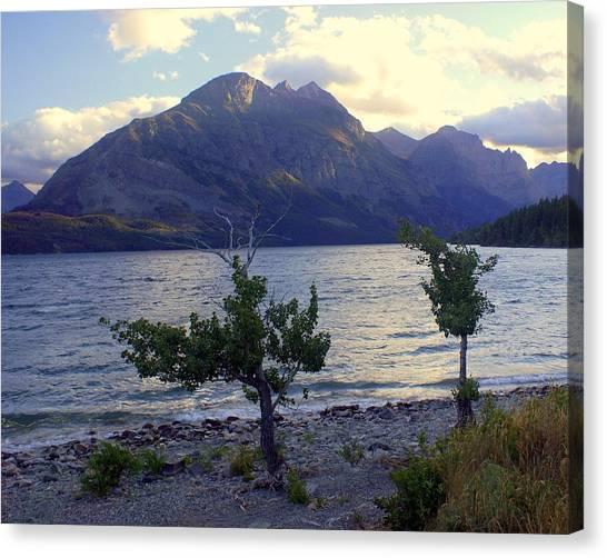 St. Mary Lake Canvas Print