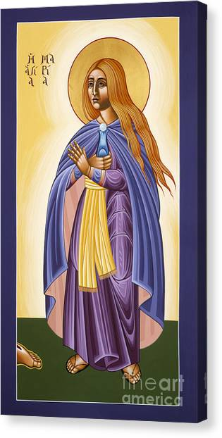 St Mary Magdalen Equal To The Apostles 116 Canvas Print