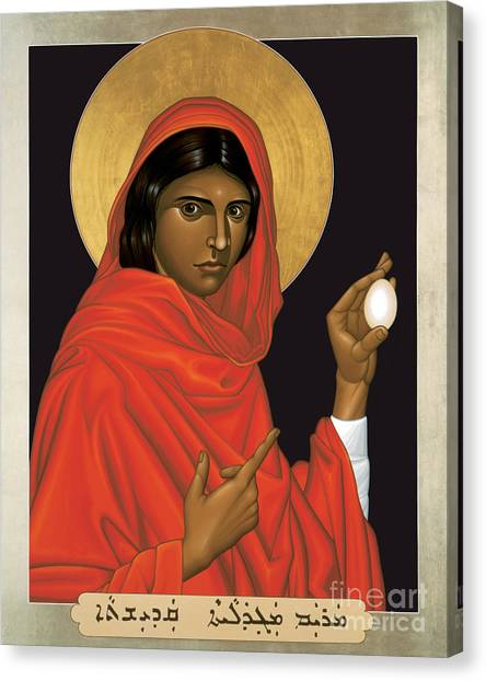 St. Mary Magdalene - Rlmam Canvas Print