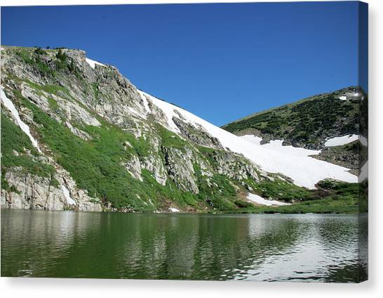 Tundras Canvas Print - St. Mary's Glacier by Kristin Davidson
