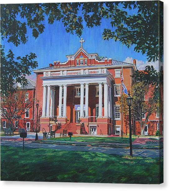 St Marys School Canvas Print