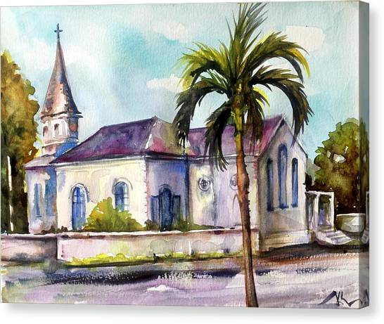 St. Matthews Church, Nassau Canvas Print
