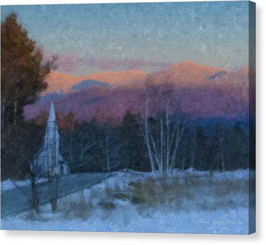 St. Matthews On Sugar Hill Road Canvas Print