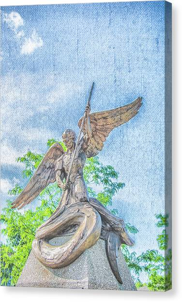 St Michael The Archangel Canvas Print