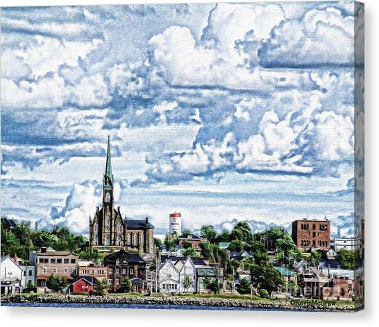 St Michaels Basilica Canvas Print