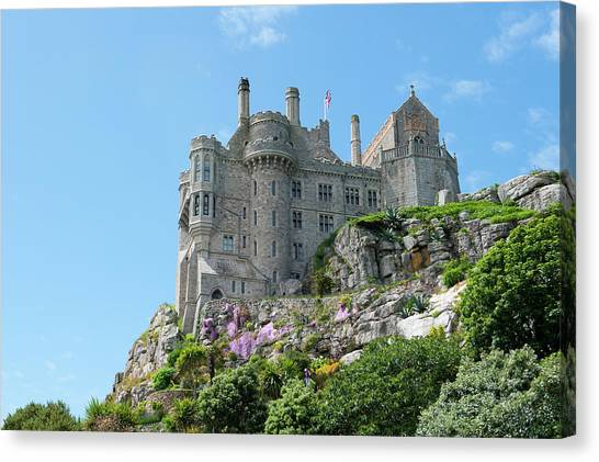 St Michael's Mount Castle Canvas Print