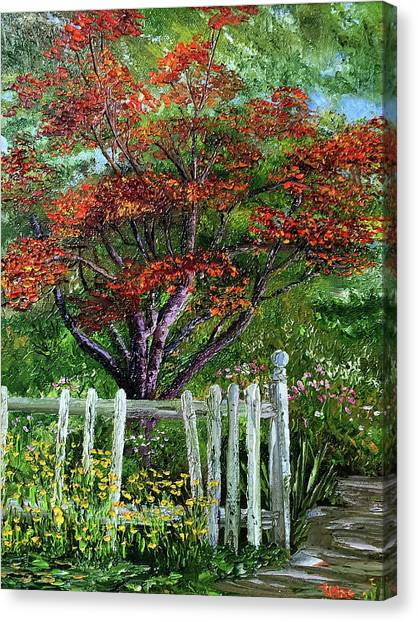St. Michael's Tree Canvas Print