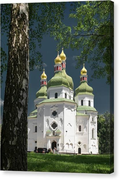 St. Nicholas Cathedral. Nizhyn, 2016. Canvas Print