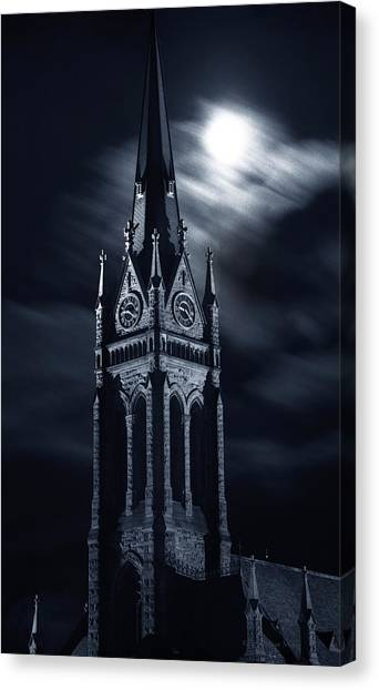 St Nicholas Church Wilkes Barre Pennsylvania Canvas Print