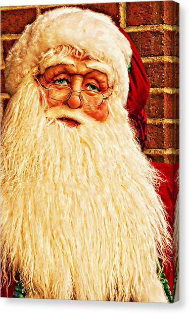 St. Nicholas Melting Canvas Photoart Canvas Print