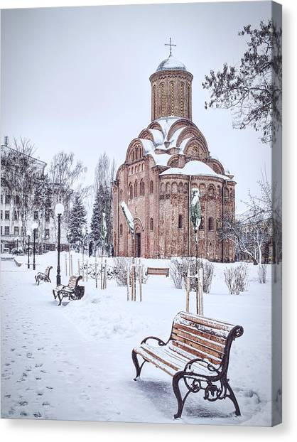 St. Paraskeve Church. Chernihiv, 2018. Canvas Print