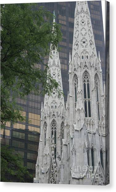 St Patricks Cathedral Canvas Print