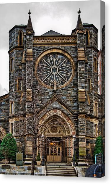 St. Patrick's Church Canvas Print