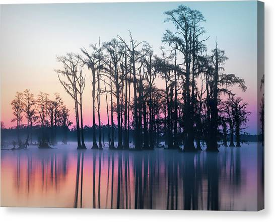 St. Patrick's Day Sunrise Canvas Print