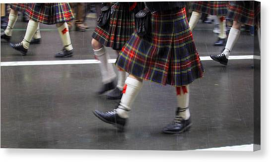 St Patty's  Canvas Print by Dennis Curry