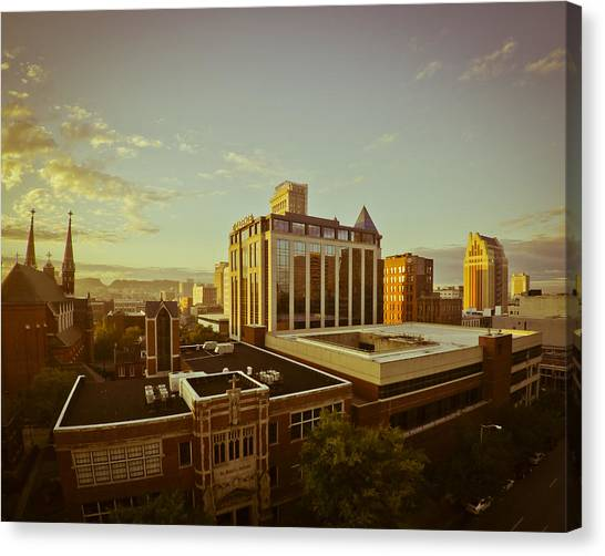 St. Paul Sunrise Canvas Print
