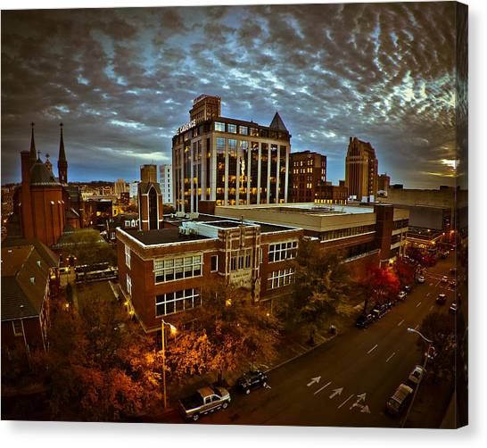 St. Paul Twilight Canvas Print