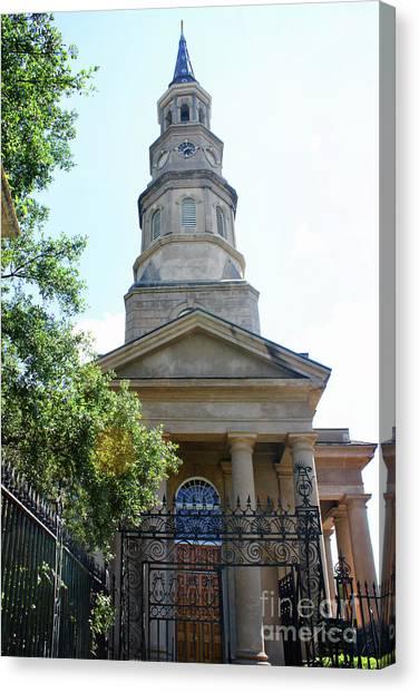 St. Phillips Episcopal Church, Charleston, South Carolina Canvas Print