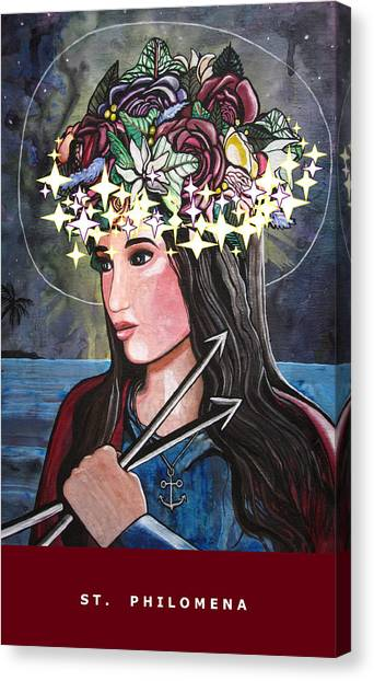 St. Philomena Canvas Print