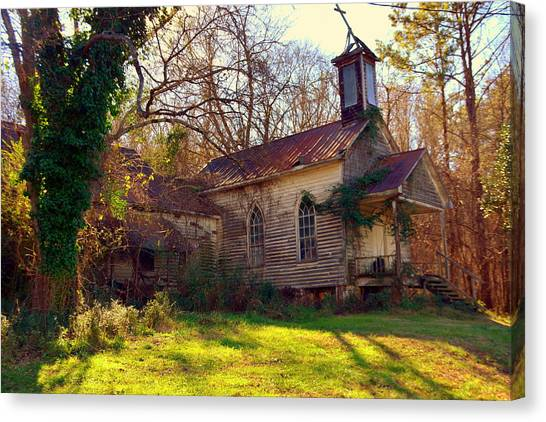 St Simon Church Peak Sc Canvas Print