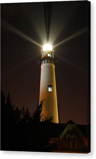 St Simons Island Lighthouse Canvas Print