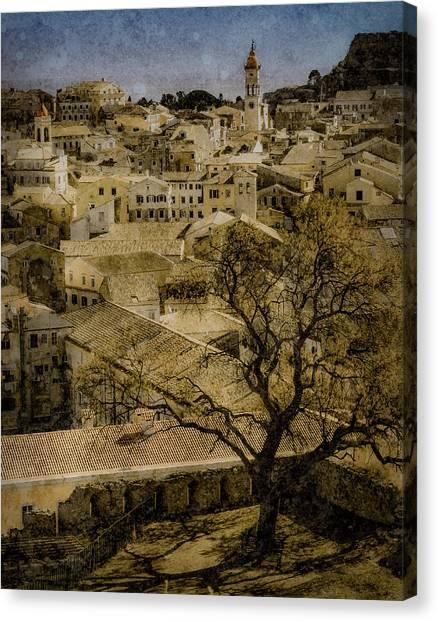 Canvas Print featuring the photograph Corfu, Greece - St. Spyridon by Mark Forte