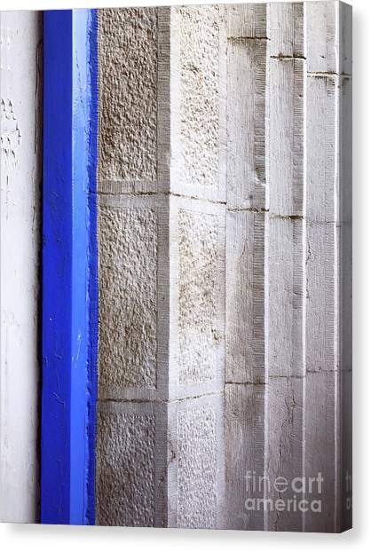 Canvas Print featuring the photograph St. Sylvester's Doorway by Rick Locke