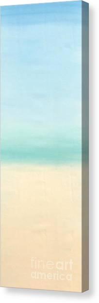 St Thomas #1 Seascape Landscape Original Fine Art Acrylic On Canvas Canvas Print