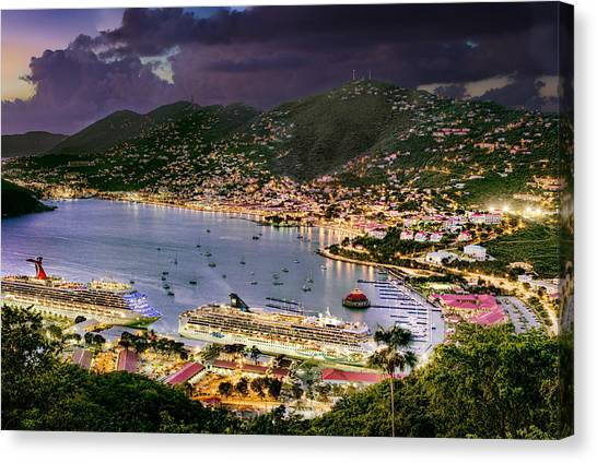 St Thomas Nights Canvas Print