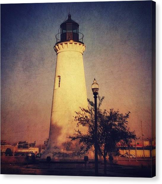 Lighthouses Canvas Print - #stackablesapp #stackables #lighthouse by Joan McCool