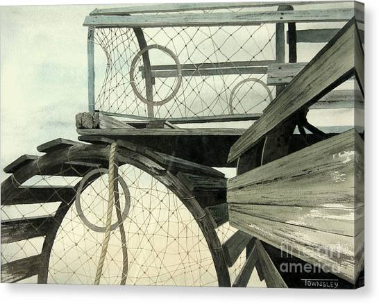 Stacked Traps Canvas Print