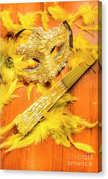Masquerade Canvas Print - Stage And Dance Still Life by Jorgo Photography - Wall Art Gallery