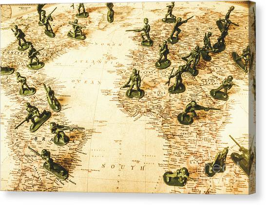 Old World Canvas Print - Staged World War by Jorgo Photography - Wall Art Gallery