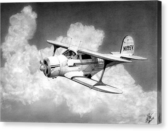Staggerwing Canvas Print by Lyle Brown