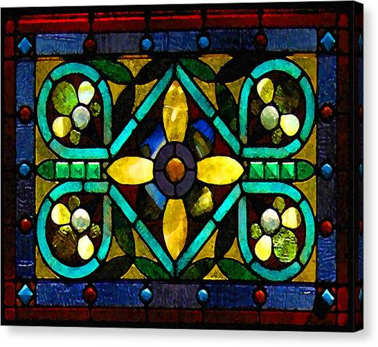Stained Glass 1 Canvas Print