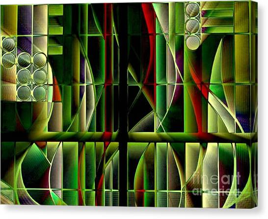 Stained Glass 2 Canvas Print