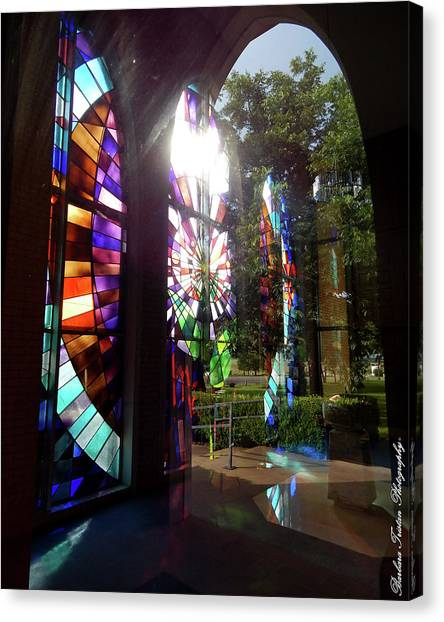 Stained Glass #4720 Canvas Print