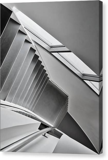 Museums Canvas Print - Staircase by Henk Van Maastricht
