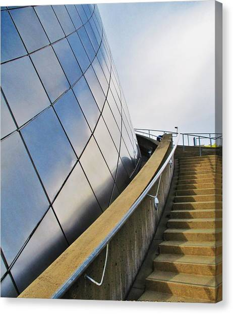 Staircase To Sky Canvas Print