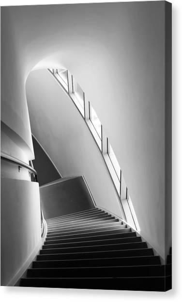 Museums Canvas Print - Stairs by Liesbeth Van Der Werf