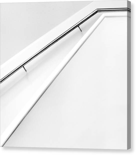 Stair Canvas Print - Stairs Lines by Jeroen Van De Wiel