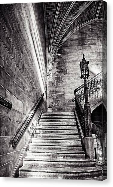 Stairs Of The Past Canvas Print