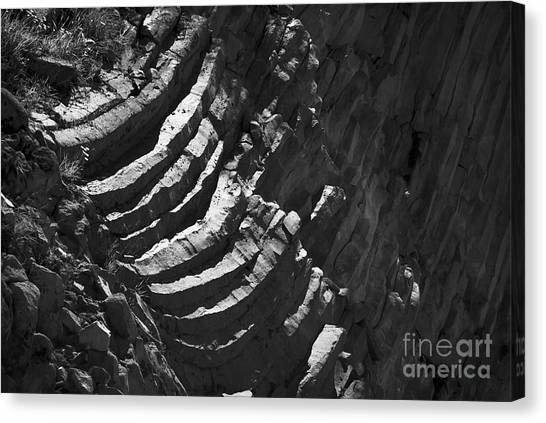 Stairs Of Time Canvas Print