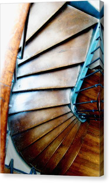 Stairs Paris Canvas Print by Keith Campagna