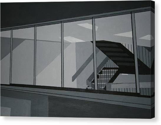 Stairs Canvas Print by Ryan Flanagan