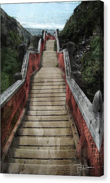 Stairs To Bliss Canvas Print