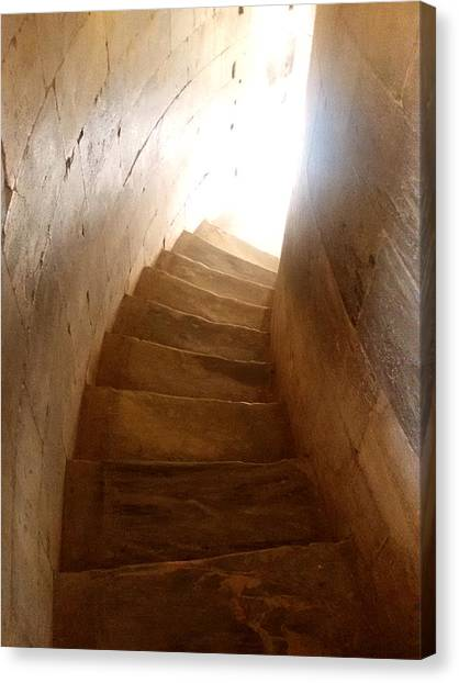 Stairway From Heaven Canvas Print