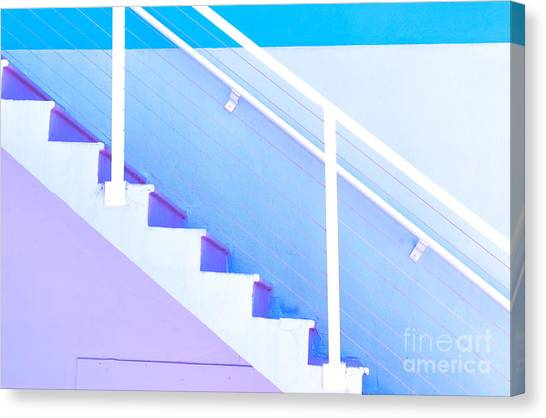 Stair Canvas Print - Stairway by Juli Scalzi
