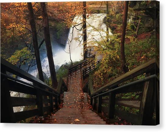 Stairway To Brandywine Canvas Print