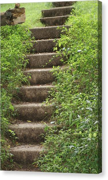 Stairway To Heaven Canvas Print by Heather Green